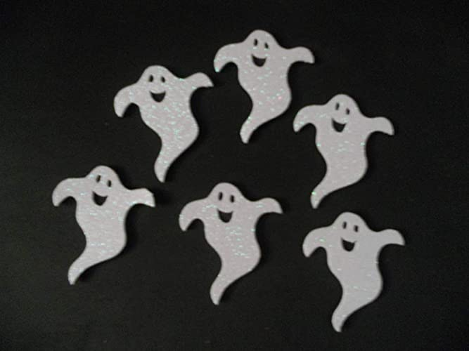 6 Fantasmas para decorar en halloween de goma eva brillante ...