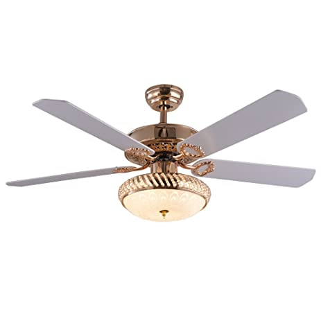 Tropicalfan Decorative Modern Ceiling Fan With Remote Control 1 LED ...