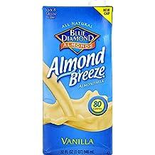 Blue Diamond Vanilla Almond Breeze, 32 Oz - 12 Per Case.