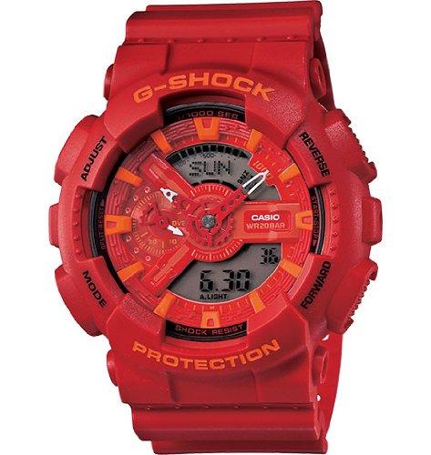 G-Shock Men's GA-110AC-4A Red Stylish Watch