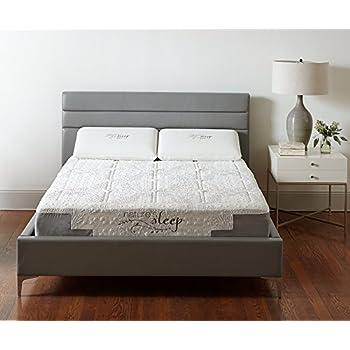 Amazon Com Nature S Sleep Quilted 10 Quot Gel Memory Foam
