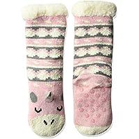 Jacques Moret Girls' Big Cozy Warmer Sock