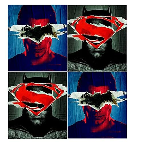 Wholesale Batman Superman Movie Poly Folders - 4 Pack supplier