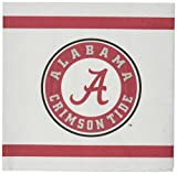 Mayflower Distributing Company 24Count University of Alabama Beverage Napkin, Multicolor