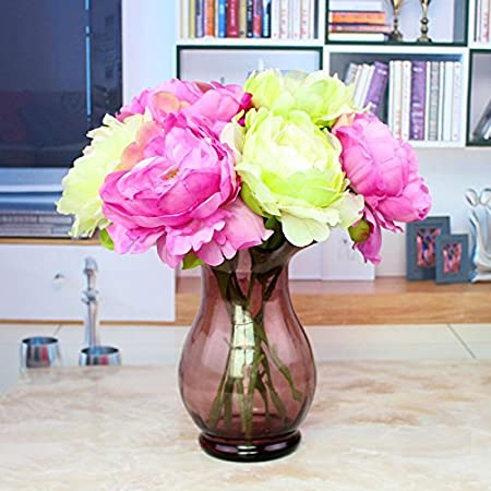 NabothT Flower simulation Creative New household living room in the ...