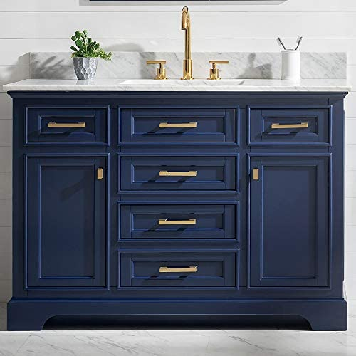 LUCA Kitchen Bath LC48OBW Savanna 48″ Single Bathroom Vanity Set