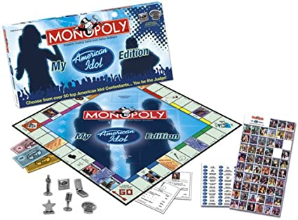 Amazon.com: USAopoly My American Idol Collectors Edition ...