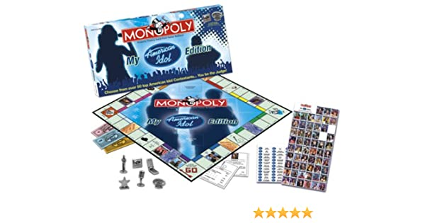 USAopoly My American Idol Collectors Edition Monopoly: Amazon.es: Juguetes y juegos