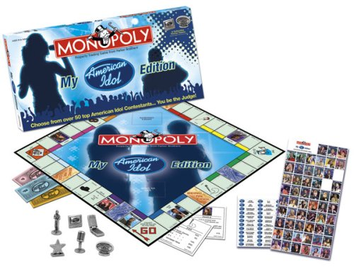 Usaopoly My American Idol CollectorS Edition Monopoly (American Idol Toy)