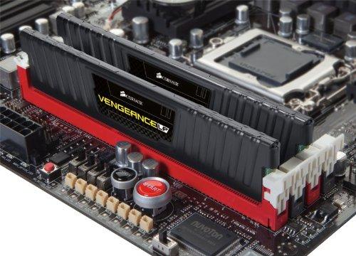 Corsair CML16GX3M2A1600C9 Vengeance LP 2-Pack 8GB PC3-12800 DDR3 DIMM Memory Kit Black