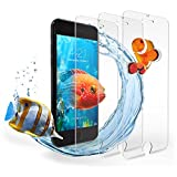 iPhone 7 Screen Protector, Hotbin [3-Pack] Ballistic Tempered Glass, 3D Touch Compatible Screen Protection for Apple iPhone 7