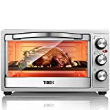 Toaster Oven 6 Slice Oven Toaster SpeedBaking, for Toast/Bake/Broil Function with 4 Heating Elements Intuitive Easy-Reach Toaster Oven Broiler, Stainless Steel Toaster Oven