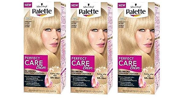 Schwarzkopf Palette Perfect Care - Tinte de pelo de color rubio ...