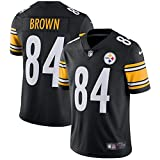 Men's Pittsburgh Steelers Limited Antonio Brown #84 Nike Black Home Jersey (X-Large)