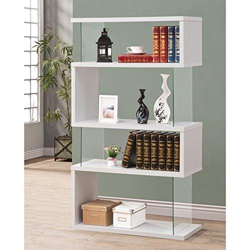 Coaster Bookshelf, White by Coaster Home Furnishings