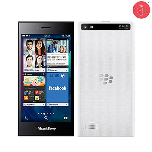 BlackBerry Leap Factory Unlocked STR100-1 International Version Pure White (Refurbished)