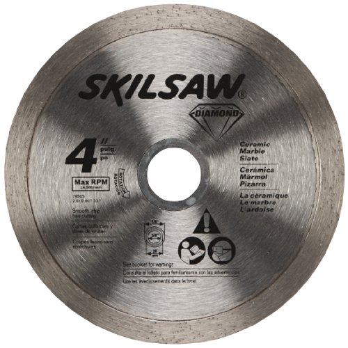 SKIL 79505C 4-Inch Continuous Rim Diamond Grinding Wheel