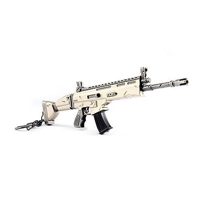 Creativa del Arma del Metal Llavero de Disparo Forma del ...