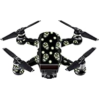 Skin For DJI Spark Mini – Nighttime Skulls   MightySkins Protective, Durable, and Unique Vinyl Decal wrap cover   Easy To Apply, Remove, and Change Styles   Made in the USA