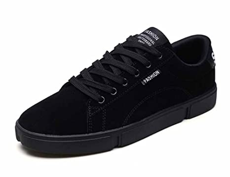 Hombres Casual Patineta Zapatos 2018 Primavera Nuevo Bajo Superior Moda Plano Zapatos Ligero Zapatillas (Color