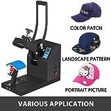 Mophorn Hat Press Machine 3.5X5.9 Inch Cap Press