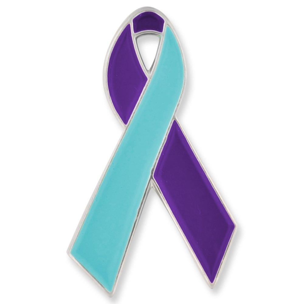 PinMart PinMart's Suicide Prevention Awareness Ribbon Enamel Lapel Pin