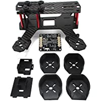 ZMR180 Carbon Frame Kit with CRAZY Add Ons!! 12v 5v BEC, TS5828 VTX Mount, 1306 Motor Guards, FPV Mini Camera Mount