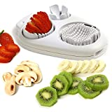Norpro 998 Multi Egg Slicer, White