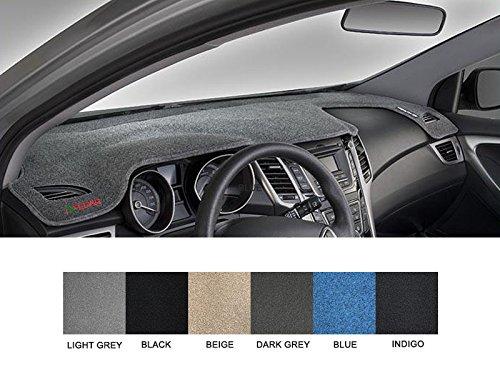 Fedar Compatible 2005-2007 Dodge Magnum/Charger Dashboard Cover Mat Pad-Black