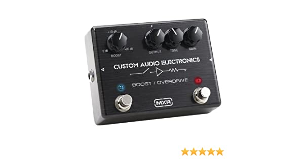 Dunlop Mc-402 custom audio electronics Boost/overdrive Boost/overdrive: Amazon.es: Instrumentos musicales