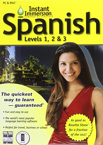 Instant Immersion Spanish  Levels  1 2   3  Spanish Edition
