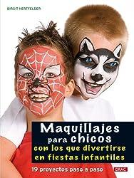Maquillajes para chicos con los que divertirse en fiestas infantiles