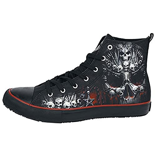 9a3769f39a214 on sale Spiral - DEATH BONES - Sneakers - Men s High Top Laceup ...
