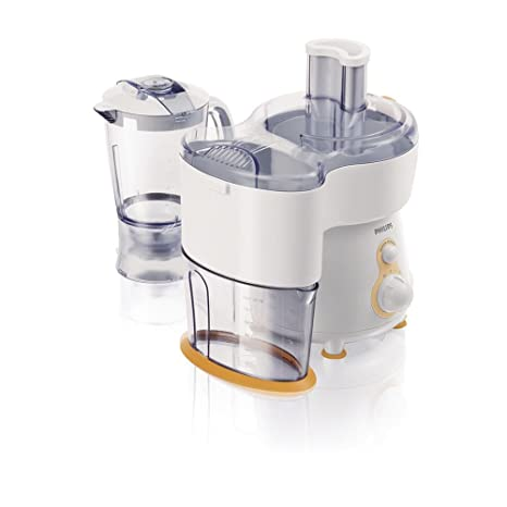 Philips Viva Collection HR1841/55 - Exprimidor (Exprimidor, Naranja, Blanco, 1