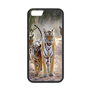 [H-DIY CASE] For Apple Iphone 6 Plus 5.5 inch screen-Powerful Tiger Pattern-CASE-15