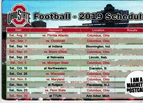 2020 Ohio State Football Schedule.Ohio State Schedule 2019 Ohio State Football Schedule 2019