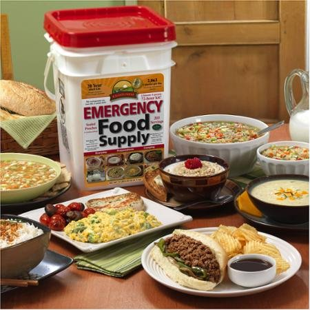 Augason Farms Emergency 4-Person 72-Hour High Quality and Safe Emergency Food Pail, 14.44 Pounds by Augason Farms