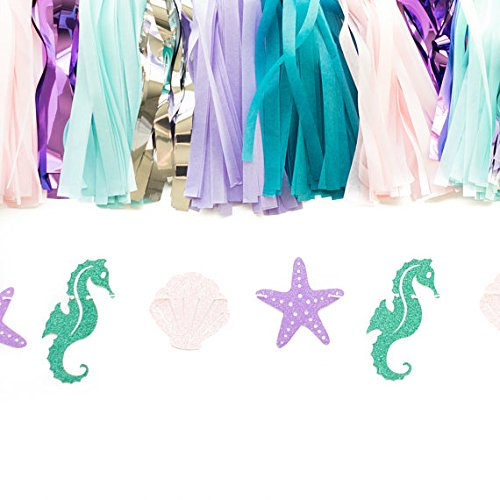 Mermaid-Seashell-Banner-Garland-Party-Supplies-for-Kid-Birthday-Party-Decoration