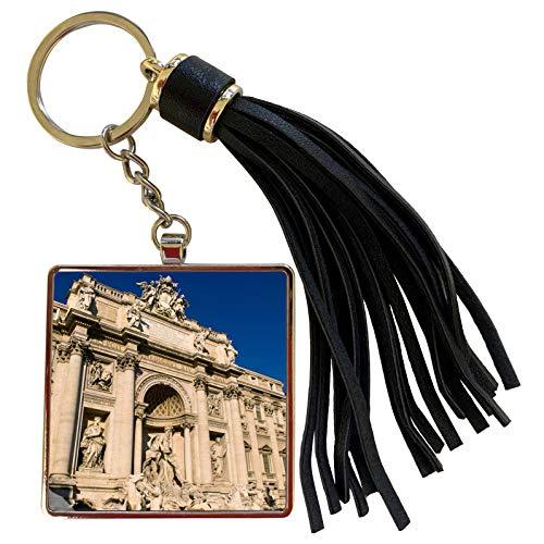 3dRose Danita Delimont - Rome - Trevi Fountain in Rome, Italy - EU16 BBA0198 - Bill Bachmann - Tassel Key Chain (tkc_82057_1)