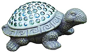 Napco 11323 Turtle with Beads Garden Statue, 9.25 x 3.25""