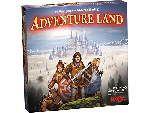 HABA Adventure Land - an Exciting Strategy Board Game for Ages 10 and Up (Made in Germany)