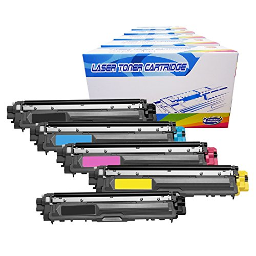 Inktoneram Compatible Toner Cartridges Replacement for Brother TN221 TN225 TN-221 TN-225 High Yield MFC-9340CDW HL-3170CDW HL-3170CW HL-3140CW MFC-9130CW MFC-9330CDW -