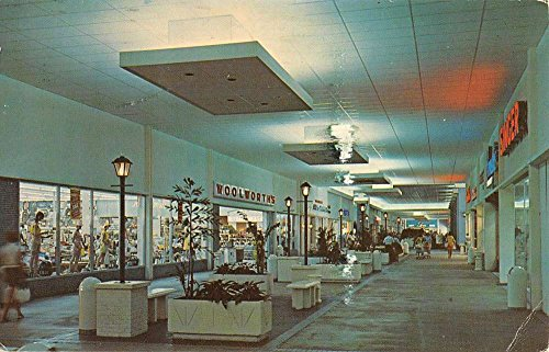 Fort Myers Beach Florida Edison Mall Shopping Center Vintage Postcard - Shopping Florida Mall