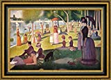 """This 15.25"""" x 19.25"""" premium giclee canvas art print of Sunday Afternoon On The Island Of La Grande Jatte by Georges Seuratis meticulously created on artist grade canvas utilizing ultra-precision print technology and fade-resistant archival inks.Ev..."""