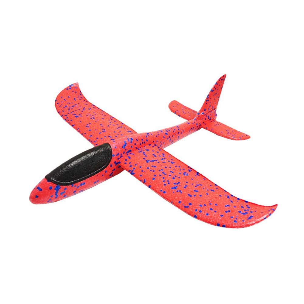 Recoproqfje Throwing Airplane Manual Sport Aircraft Toy Hand Glider Model Kids