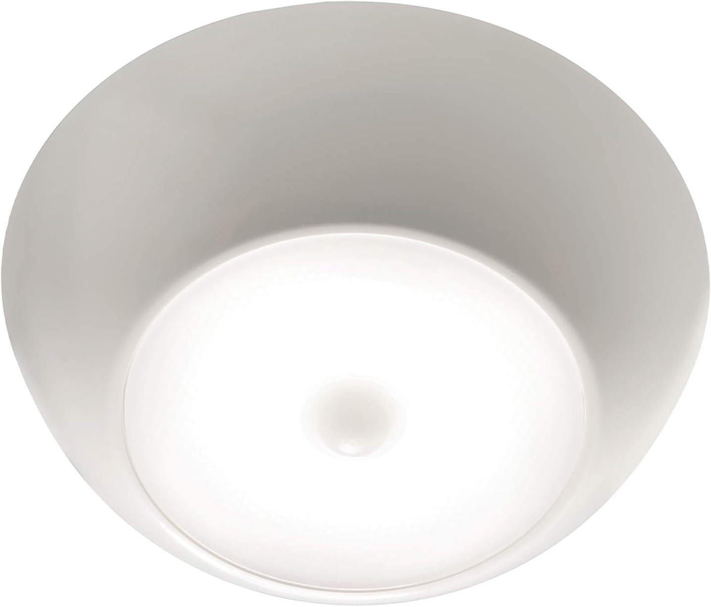 Mr Beams/Wireless Environment Llc MB990-WHT-01-07 Mr Beams Environment Led Ceiling Light, Wireless, Motion Sensing-Quantity 1