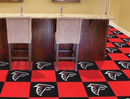 Amazon Fanmats Atlanta Falcons Carpet Tiles 18 X18 Tiles