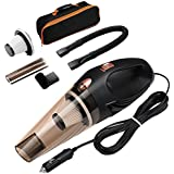 ORIA Car Vacuum Cleaner, 4000 PA, 106 W High Power Portable Cleaner, Automotive/ Auto Vacuum Cleaning Tools for Cars, with 16.4FT (5M) Power Cord and Carrying Bag