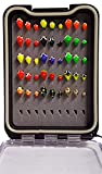 #9: Tungsten Ice Fishing Glow Jig Kit With Tackle Box