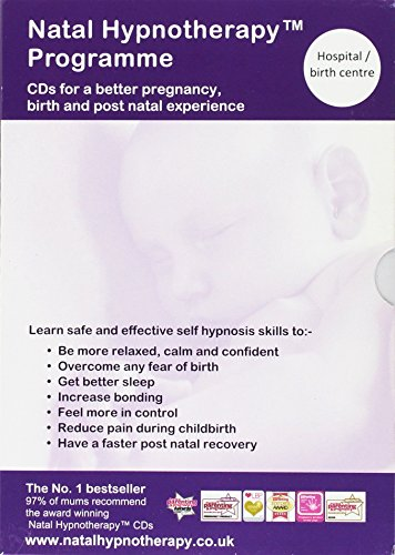 Natal Hypnotherapy Programme (for Hospital or Birth Centre): A Self Hypnosis CD Programme for a Better Pregnancy and Birth Experience (English and French Edition) by Natal Hypnotherapy